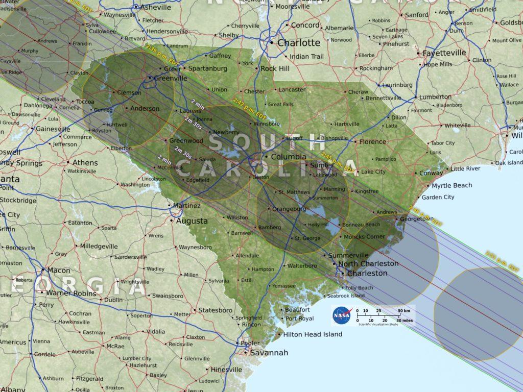 sc eclipse path