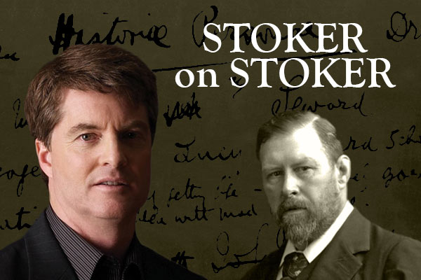 Library to host Dacre Stoker on Jan 17, 2019