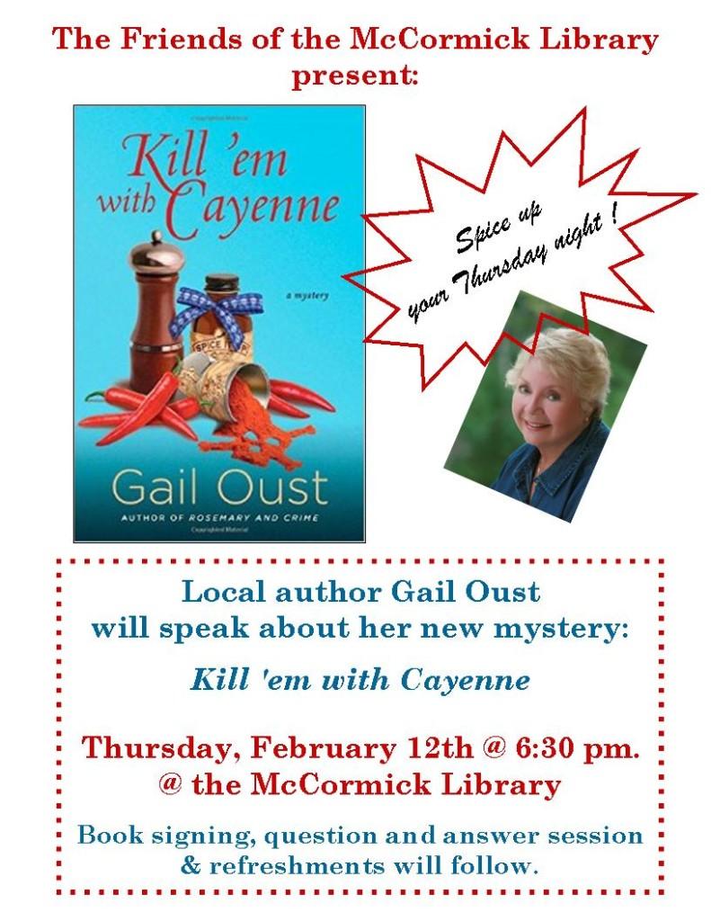 Gail Oust flyer