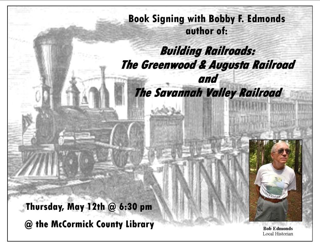 Bob Edmonds Railroads  flyer
